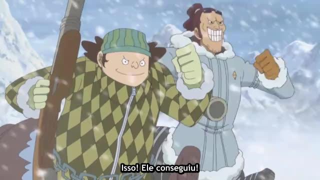One Piece Episódio - 586Um Grande Perigo!