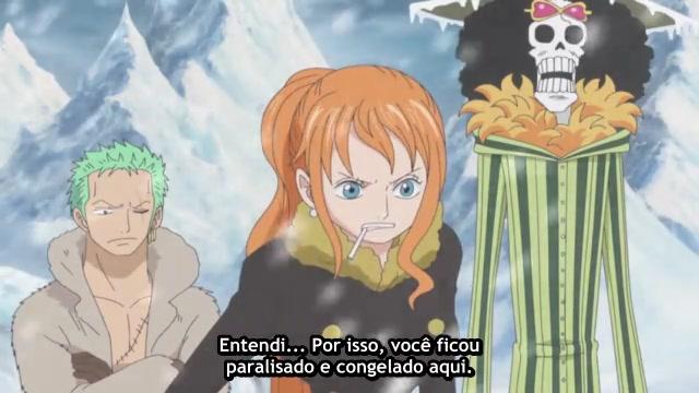 One Piece Episódio - 595Capturem o Mestre!