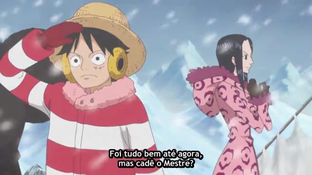 One Piece Episódio - 596A Beira da Aniquilação!