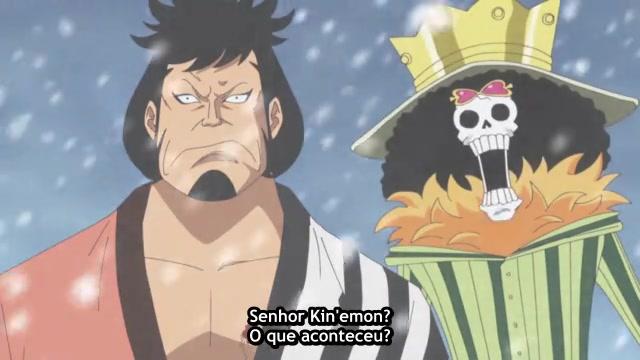 One Piece Episódio - 598O Samurai Que Corta Fogo!