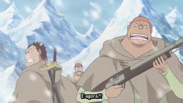 One Piece Episódio - 599Chocante! A Verdadeira Identidade de Vergo, O Homen Misterioso!