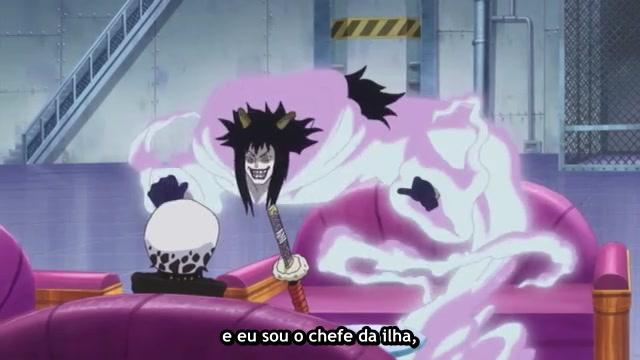 One Piece Episódio - 601Grande Abalo no Novo Mundo!