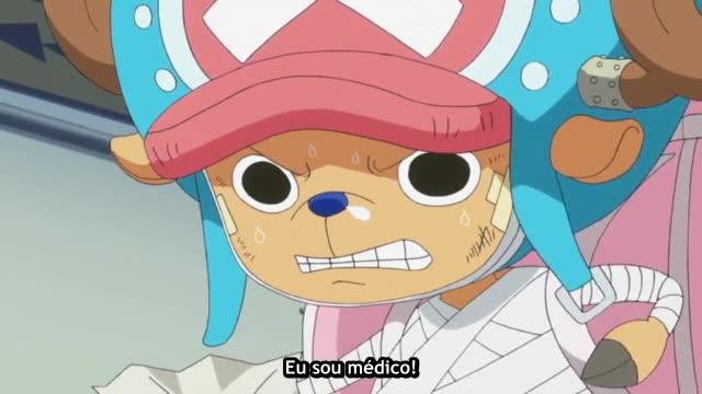 One Piece Episódio - 605As Lágrimas de Tashigi!