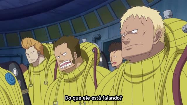 One Piece Episódio - 615A Dor de Barba Marrom!