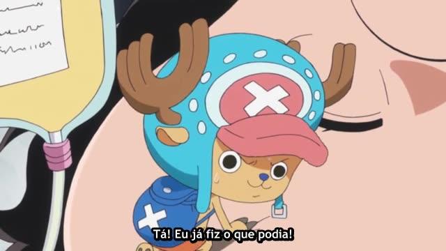 One Piece Episódio - 617Esmague o Caesar!