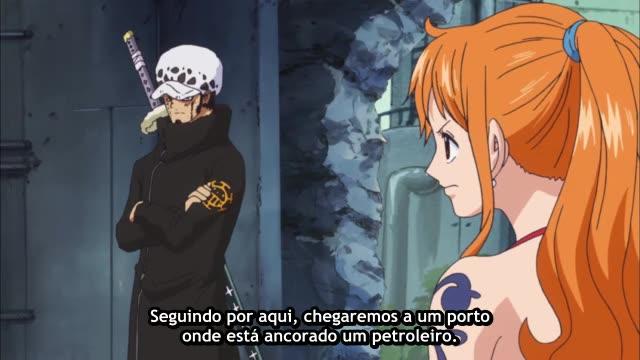 One Piece Episódio - 619O Grande Alvoroço!