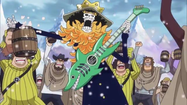 One Piece Episódio - 623Hora de Uma Triste Despedida!