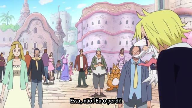 One Piece Episódio - 632Paixão Perigosa