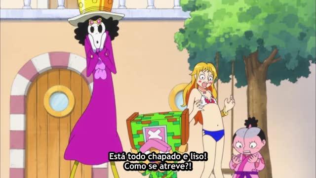 One Piece Episódio - 644Um Golpe de Raiva!