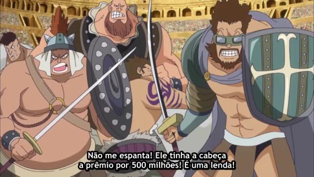 One Piece Episódio - 645Canhão Destruidor Explode!