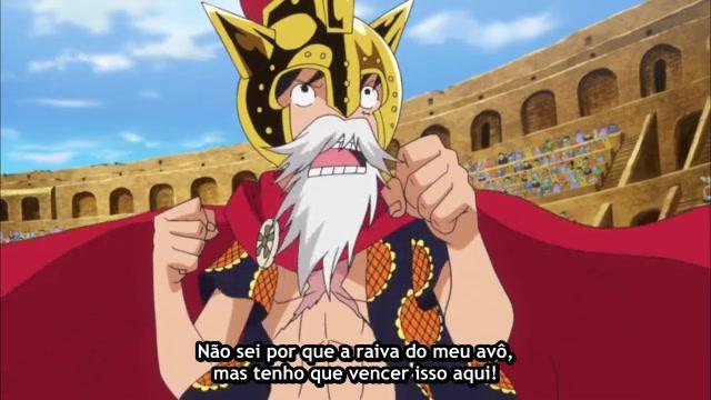 One Piece Episódio - 647Luz e Sombra.
