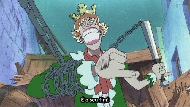 One Piece Episódio - 65A Explosiva Santouryuu!