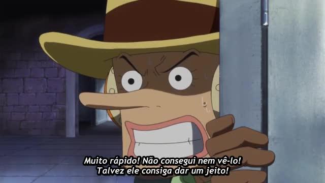 One Piece Episódio - 670A garra do dragão explode!