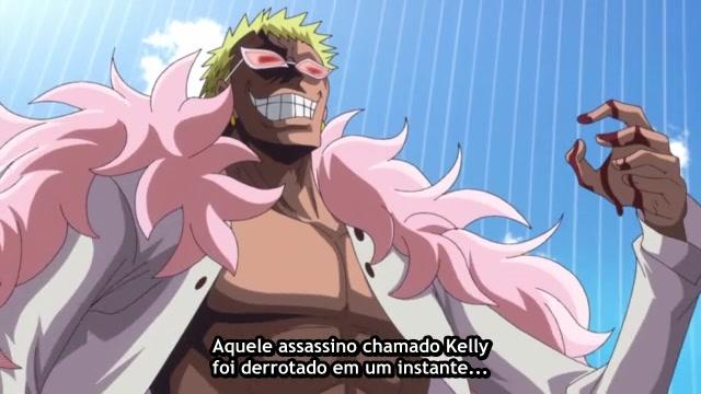 One Piece Episódio - 689Grande fuga!