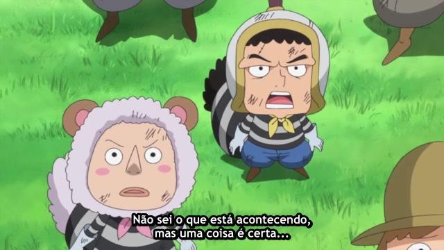 One Piece Episódio - 690A Frente de Batalha Unida!