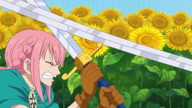 One Piece Episódio - 696Reencontro de Lágrimas. Rebecca e Kyros!