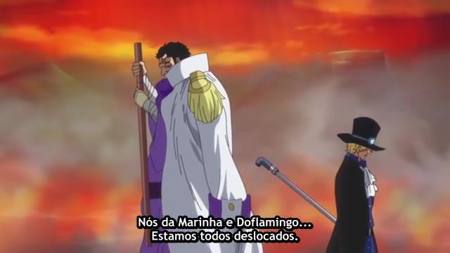 One Piece Episódio - 699Uma Família Nobre!