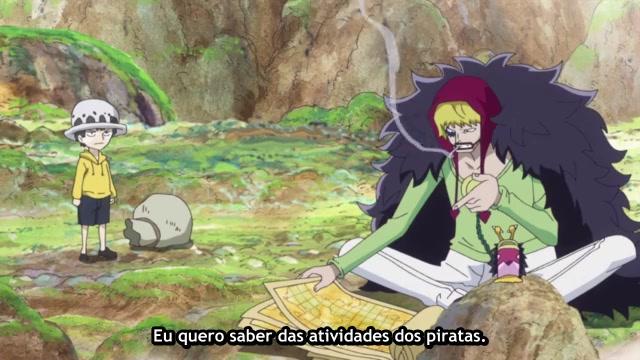 One Piece Episódio - 704Corrida Contra o Tempo.