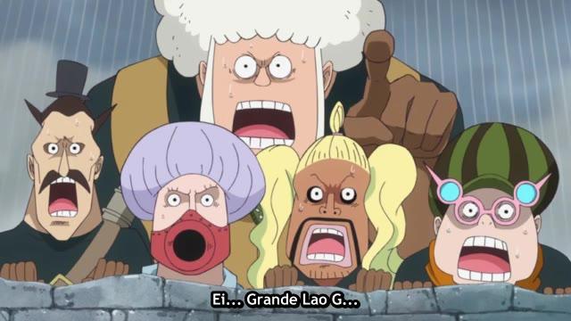 One Piece Episódio - 710Batalha do Amor!