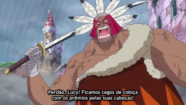 One Piece Episódio - 729A Chama do Rei Dragão