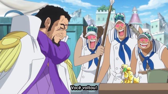 One Piece Episódio - 739A Criatura Mais Forte