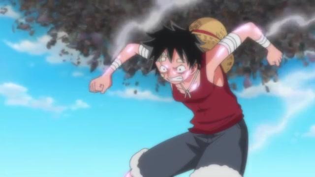 One Piece Episódio - 743A Determinação de um Homem.