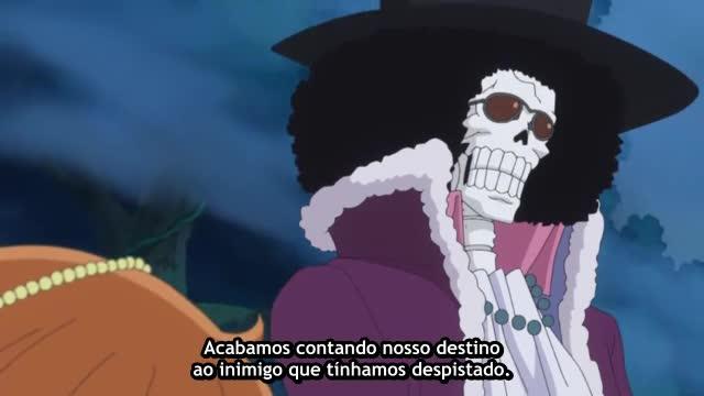 One Piece Episódio - 762O Delinquente Retorna à Terra Natal.