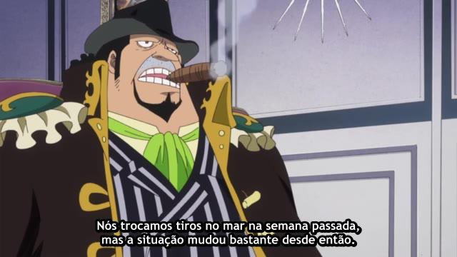 One Piece Episódio - 763A Verdade Por Trás da Ausência!