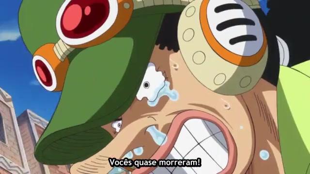 One Piece Episódio - 767Nervos à Flor da Pele!