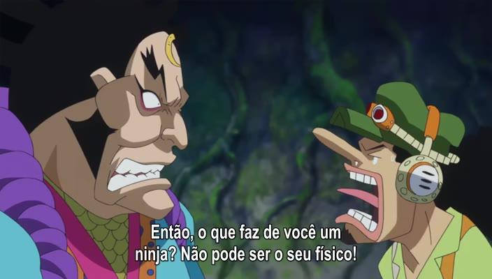 One Piece Episódio - 769Uma Rocha Vermelha!