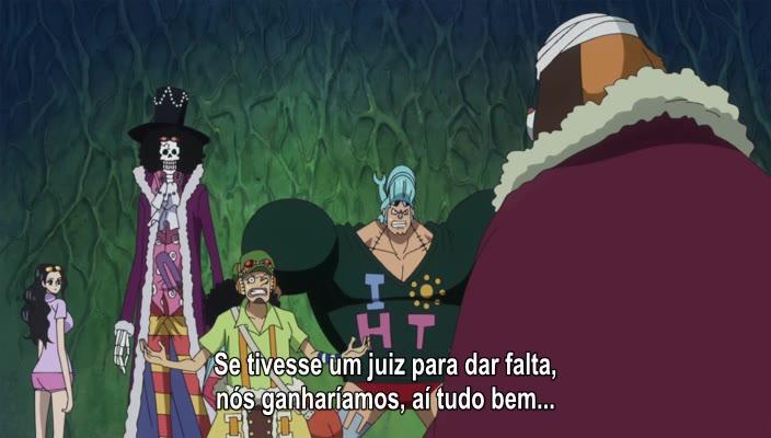 One Piece Episódio - 771Um Voto Entre Dois Homens!