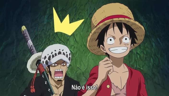 One Piece Episódio - 772A Lendária Jornada!
