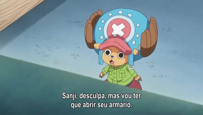 One Piece Episódio - 784Zero e Quatro!