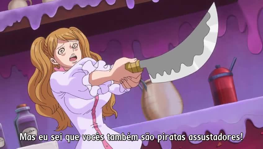 One Piece Episódio - 787A Filha da Yonkou. Sanji Fica Noivo de Pudding