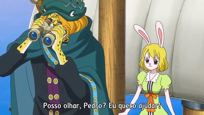 One Piece Episódio - 788Um Enorme Ataque!