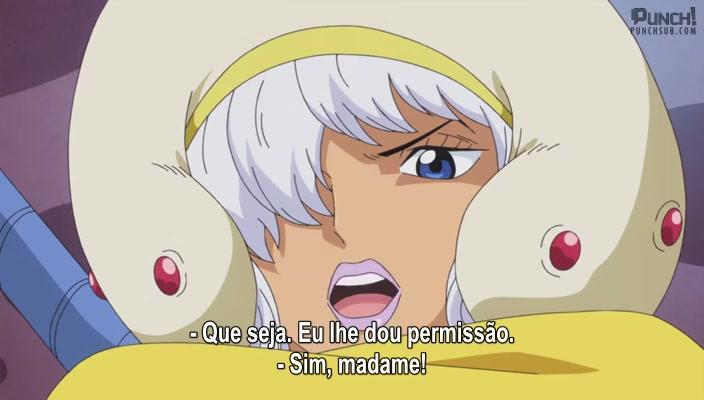 One Piece Episódio - 820Em Busca de Sanji! O Impulso Vingativo Infernal de Luffy!