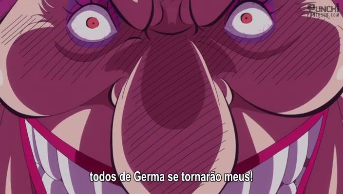 One Piece Episódio - 822A Decisão de dar Adeus! Sanji e o seu Bentô do Chapéu de Palha!