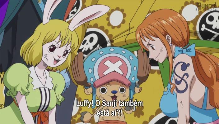 One Piece Episódio - 826Sanji Retorna! Destrua! A Festa de Chá do Inferno!