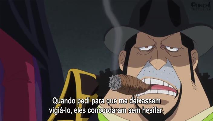 One Piece Episódio - 828O Pacto Mortal! As Forças Aliadas de Luffy e Bege!
