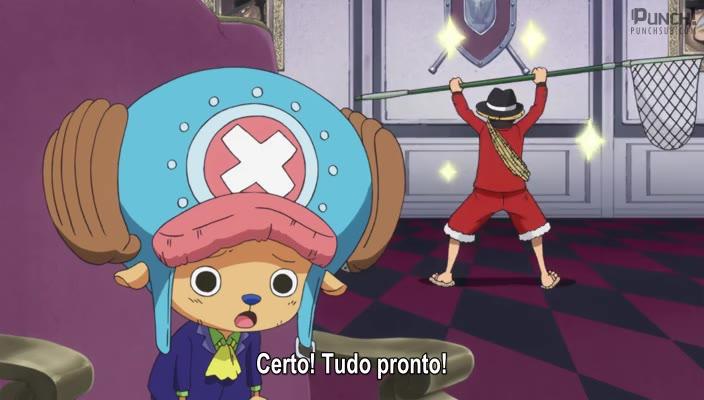 One Piece Episódio - 830A Família se Reúne! A Cerimônia do Chá Infernal Começa!