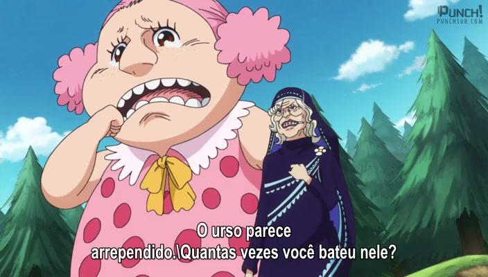 One Piece Episódio - 836O Segredo da Mom! A Ilha Gigante Elbaph e um Pequeno Monstro!