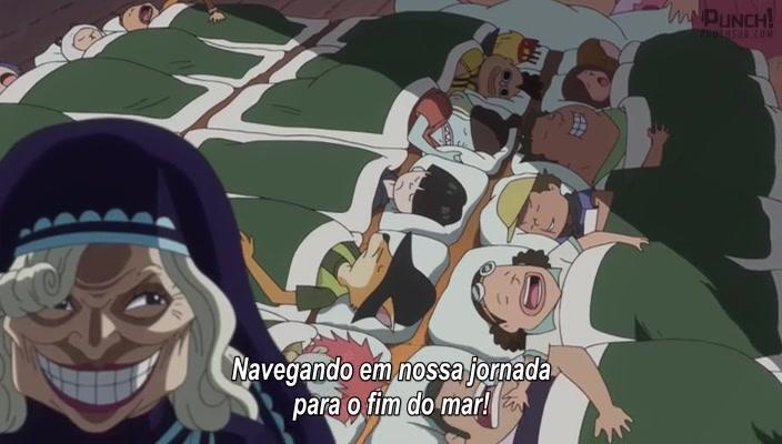 One Piece Episódio - 837O Nascimento de Mom! O Dia em que a Madre Carmel Sumiu!