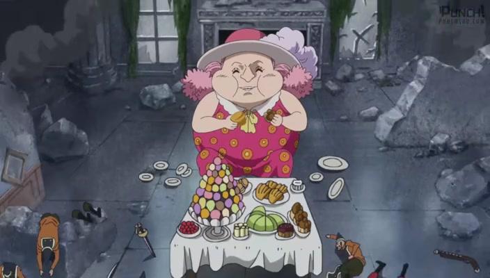 One Piece Episódio - 838O lançador dispara! O momento do assassinato da Big Mom!