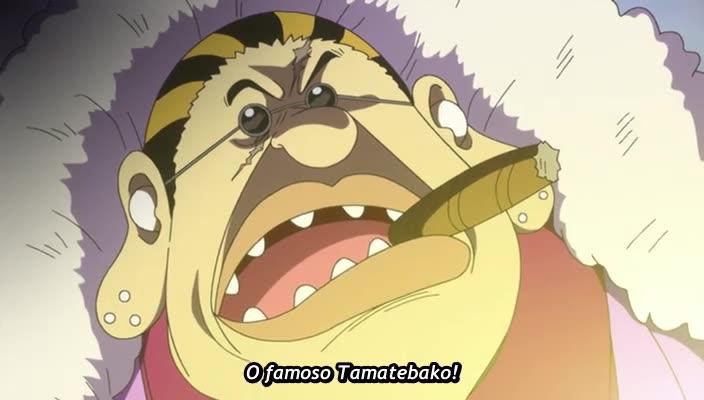 One Piece Episódio - 839O Exército do Mal! Germa 66, Hora de Morfar!