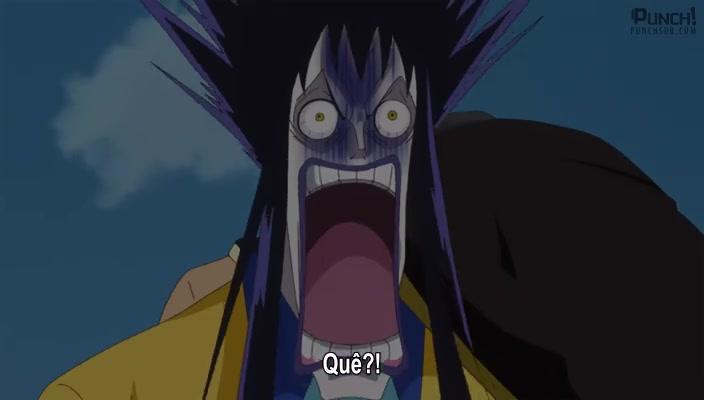 One Piece Episódio - 841Fuga da Festa do Chá! Luffy vs Big Mom!