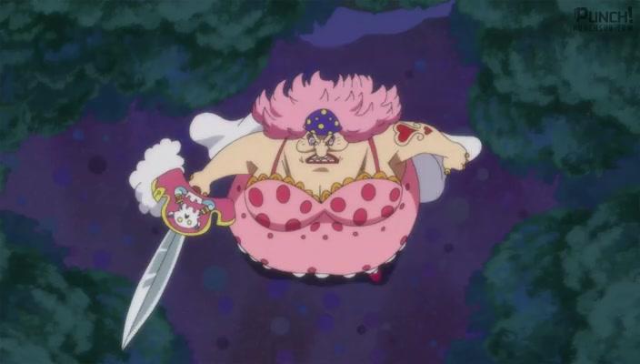 One Piece Episódio - 846Um Contra-Ataque Relâmpago! Nami e Zeus, a Nuvem Trovão!