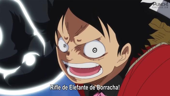 One Piece Episódio - 850Eu Voltarei! A Partida Mortal de Luffy!