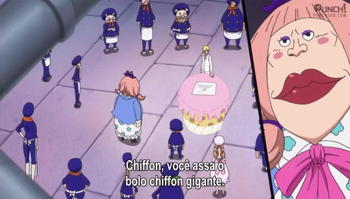 One Piece Episódio - 852Uma Batalha Difícil Começa! Luffy vs Katakuri!