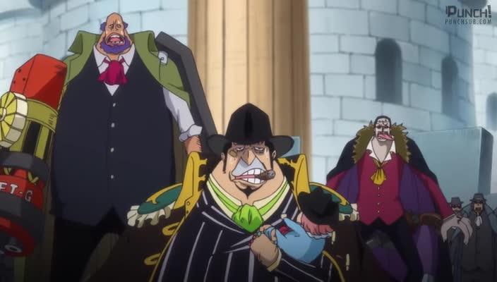 One Piece Episódio - 860O Jeito de Viver de um Homem! A Determinação de Bege e de Luffy como Capitães!