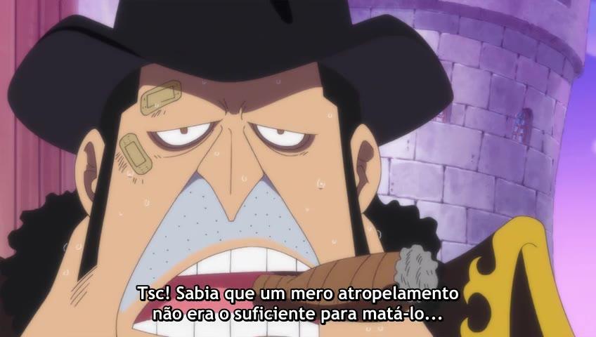 One Piece Episódio - 861O Bolo Afundou! A Batalha de Fuga de Sanji e Bege!